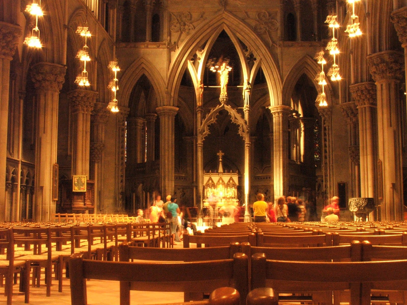 Nidaros Cathedral, Trondheim, Norway, Interior view