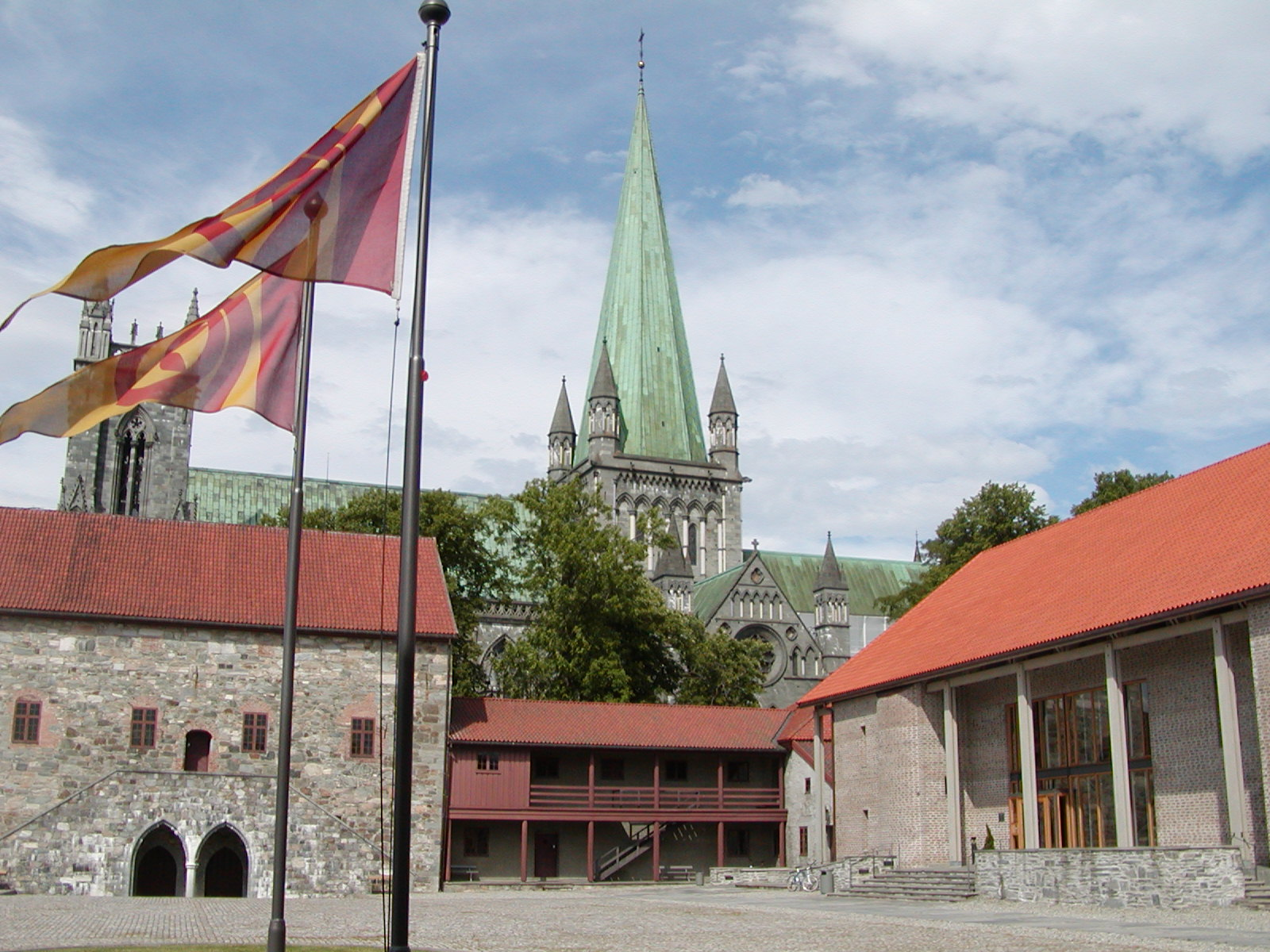 Nidaros Cathedral, Trondheim, Norway, Archbishop palace