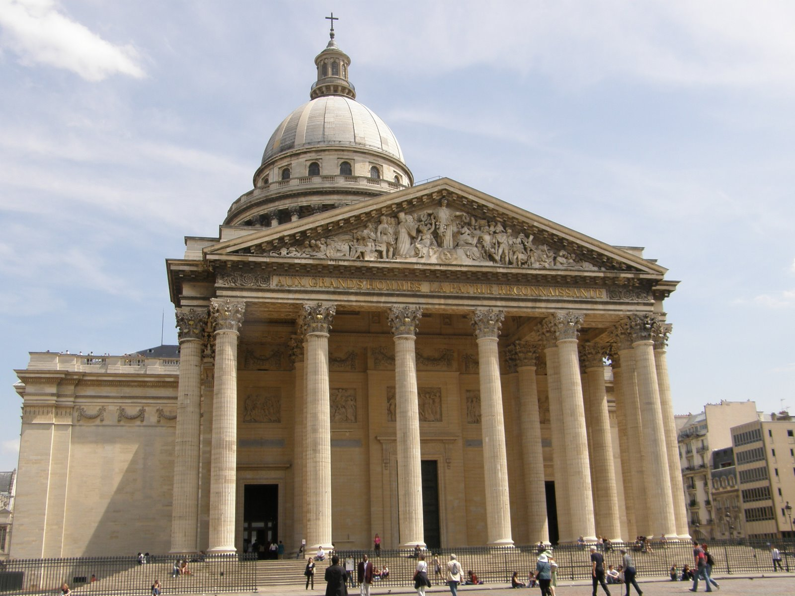 Paris Architecture, France, The Pantheon