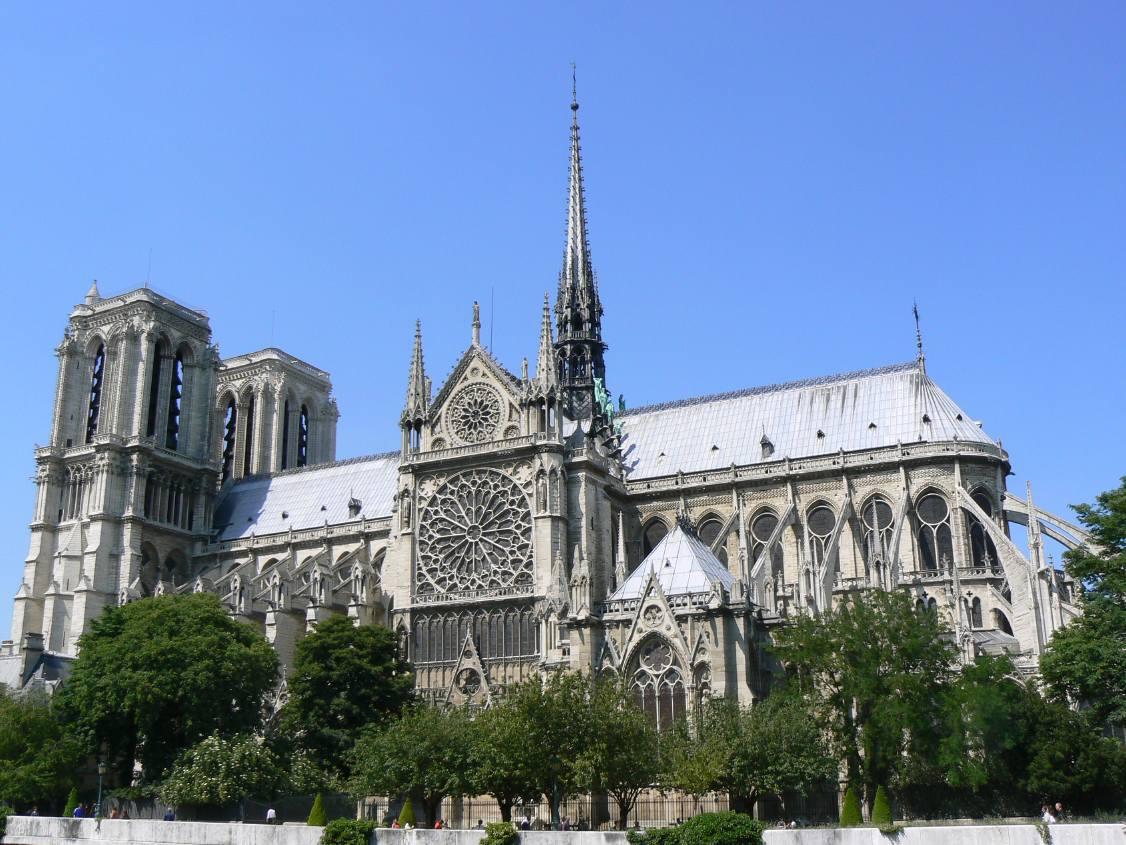 Paris architecture france notre dame de paris for Architecture a paris