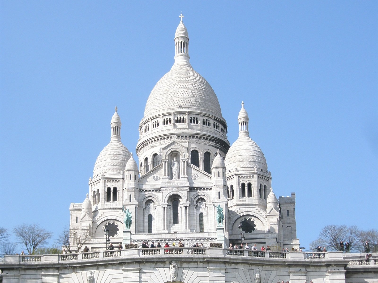 Paris Architecture, France, Sacre Coeur