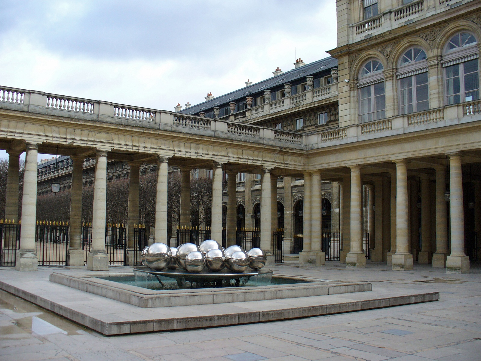 Paris Architecture, France, Palais Royal
