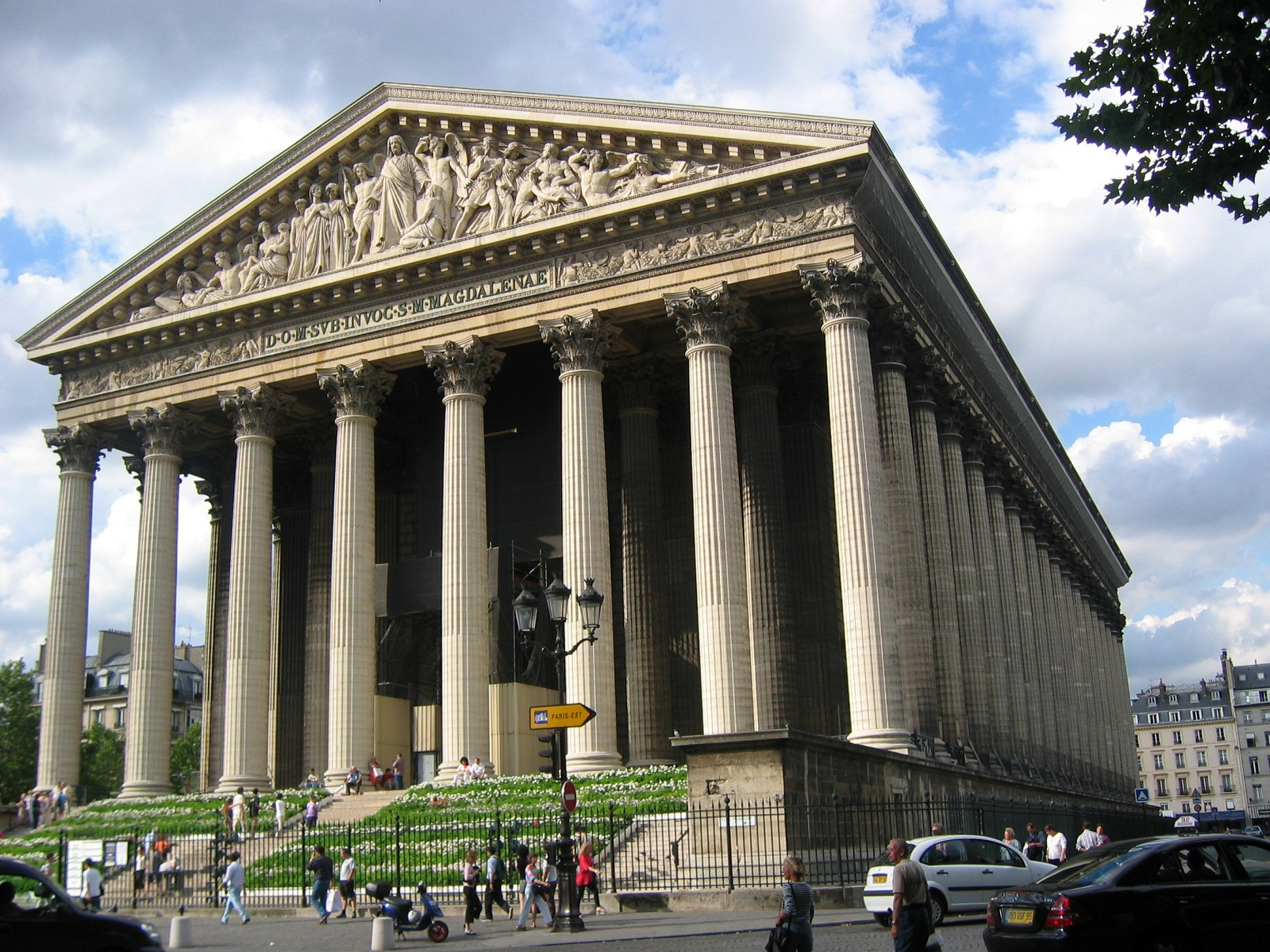 paris architecture france la madeleine