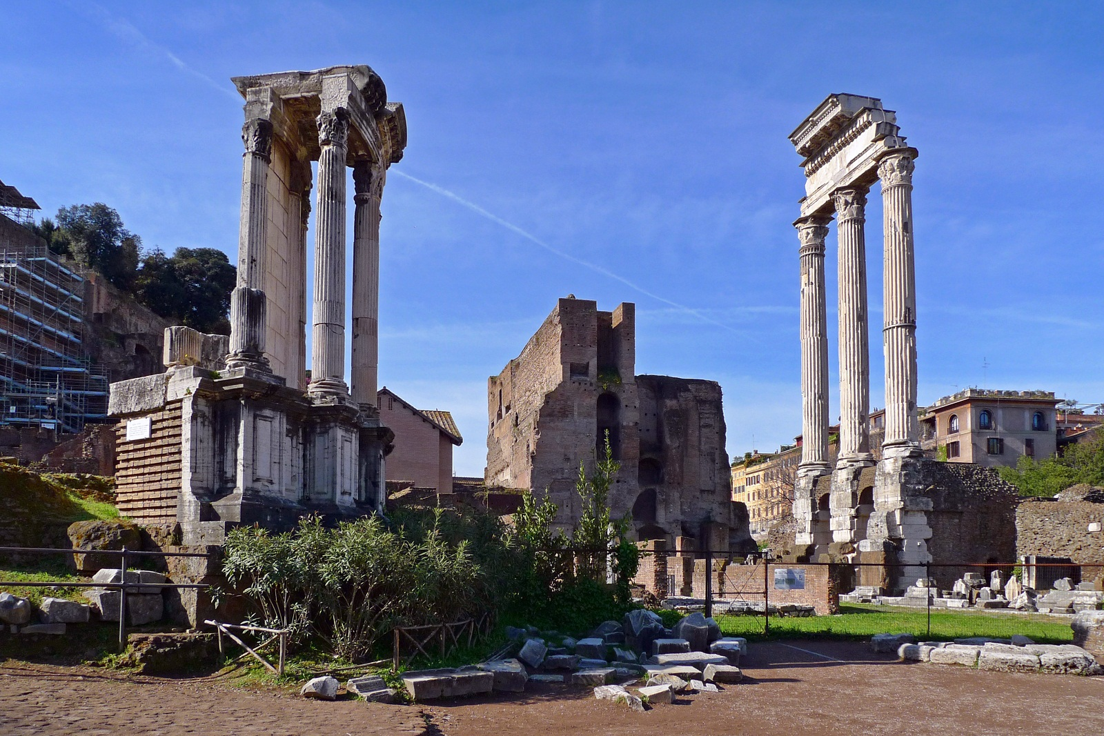 Rome Architecture, Italy, Ancient ruins