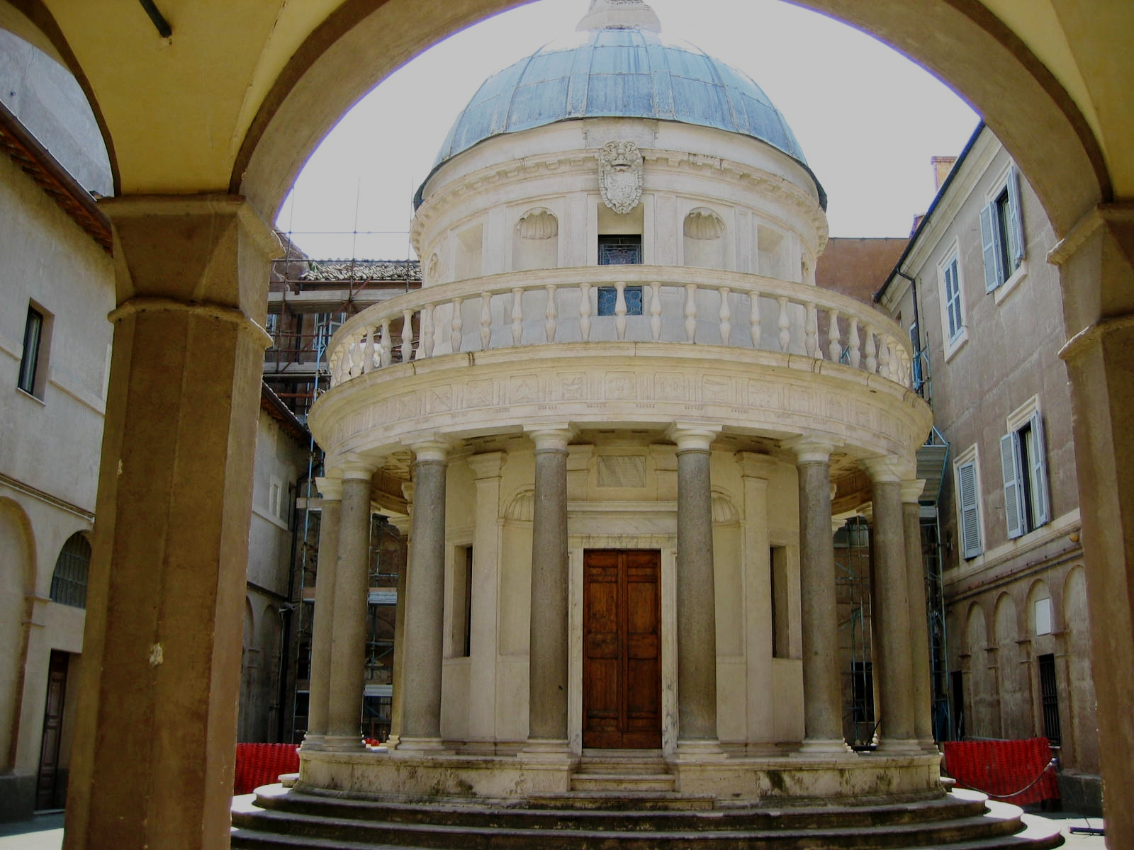 rome architecture italy the tempietto 1216 world all