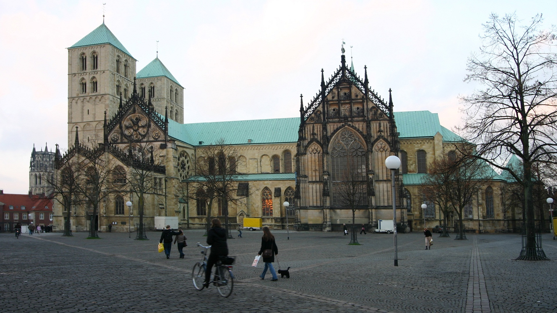 Saint Paulus Dom, Munster, Germany, Panorama