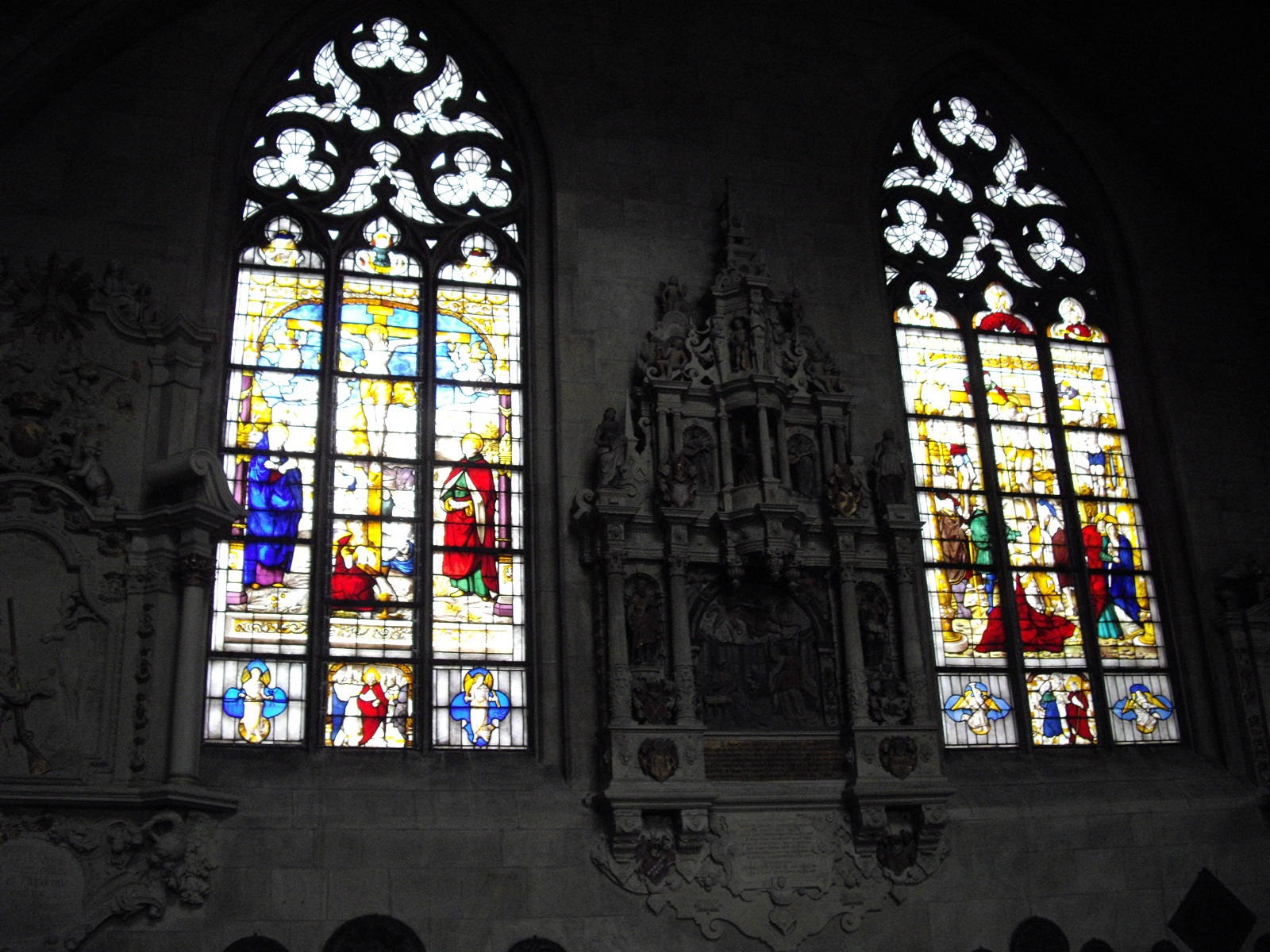 Saint Paulus Dom, Munster, Germany, Stained glass windows