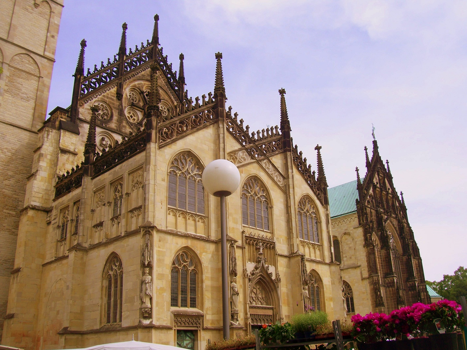 Saint Paulus Dom, Munster, Germany, Rear view