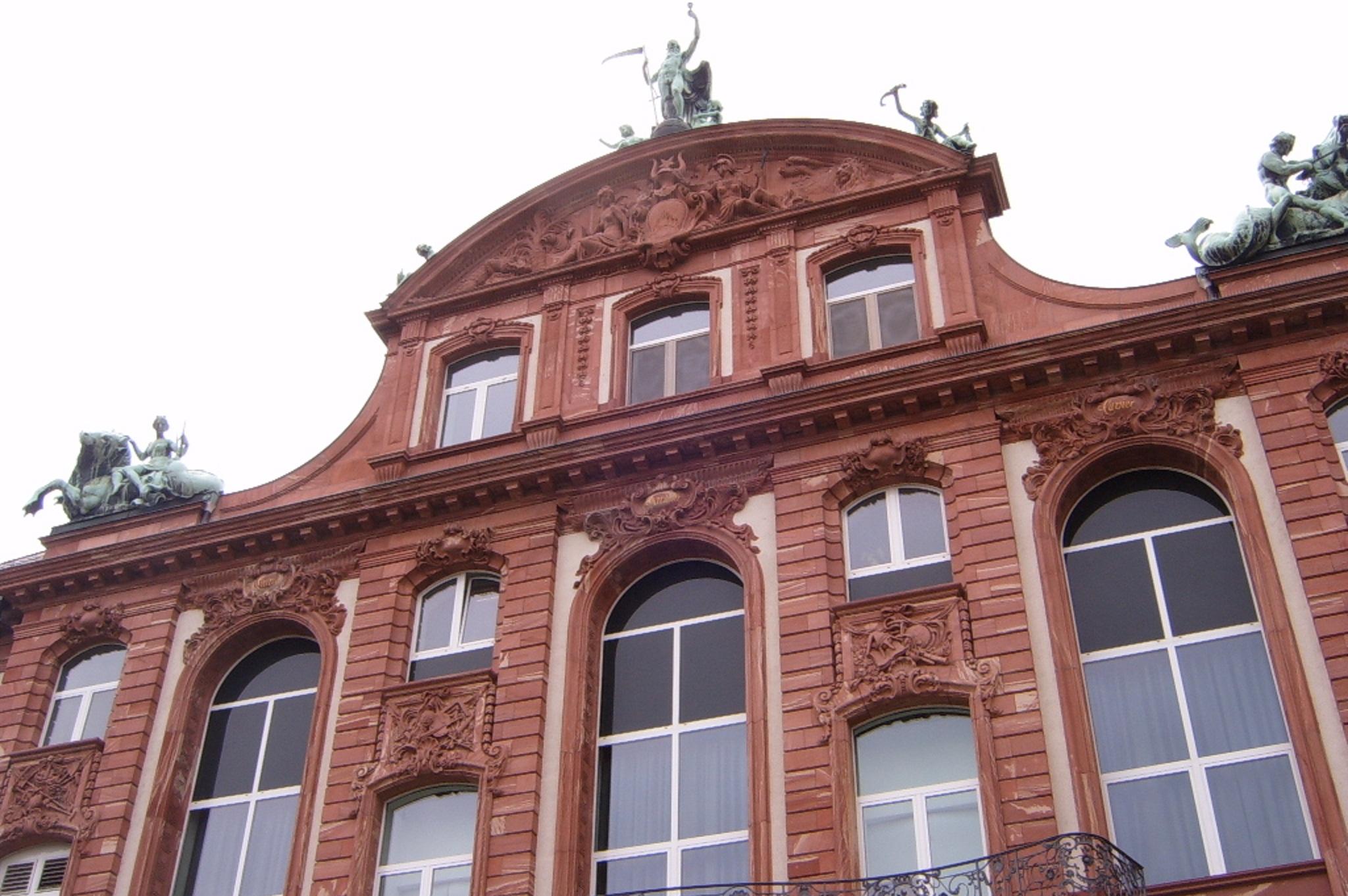 Senckenberg museum frankfurt germany facade architecture for Frankfurt architekturmuseum