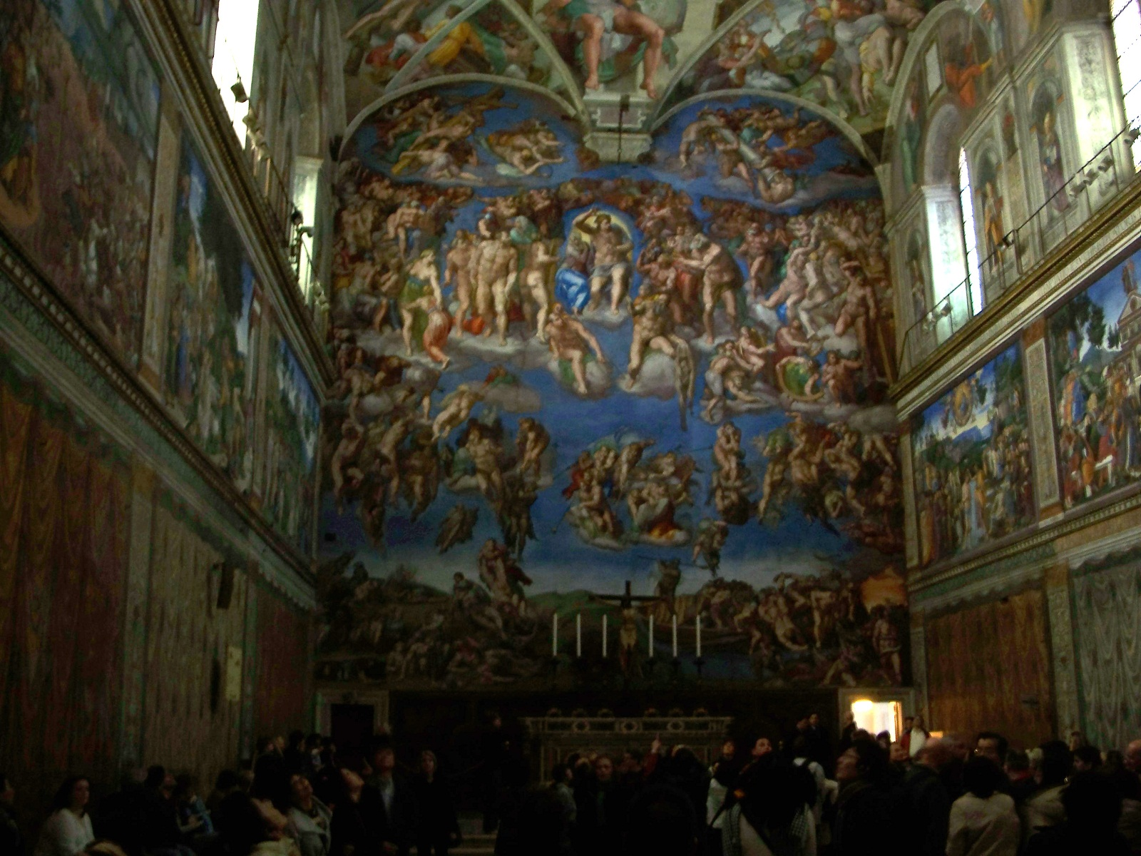 Sistine Chapel, Vatican, Michelangelo fresco, The Last Judgment