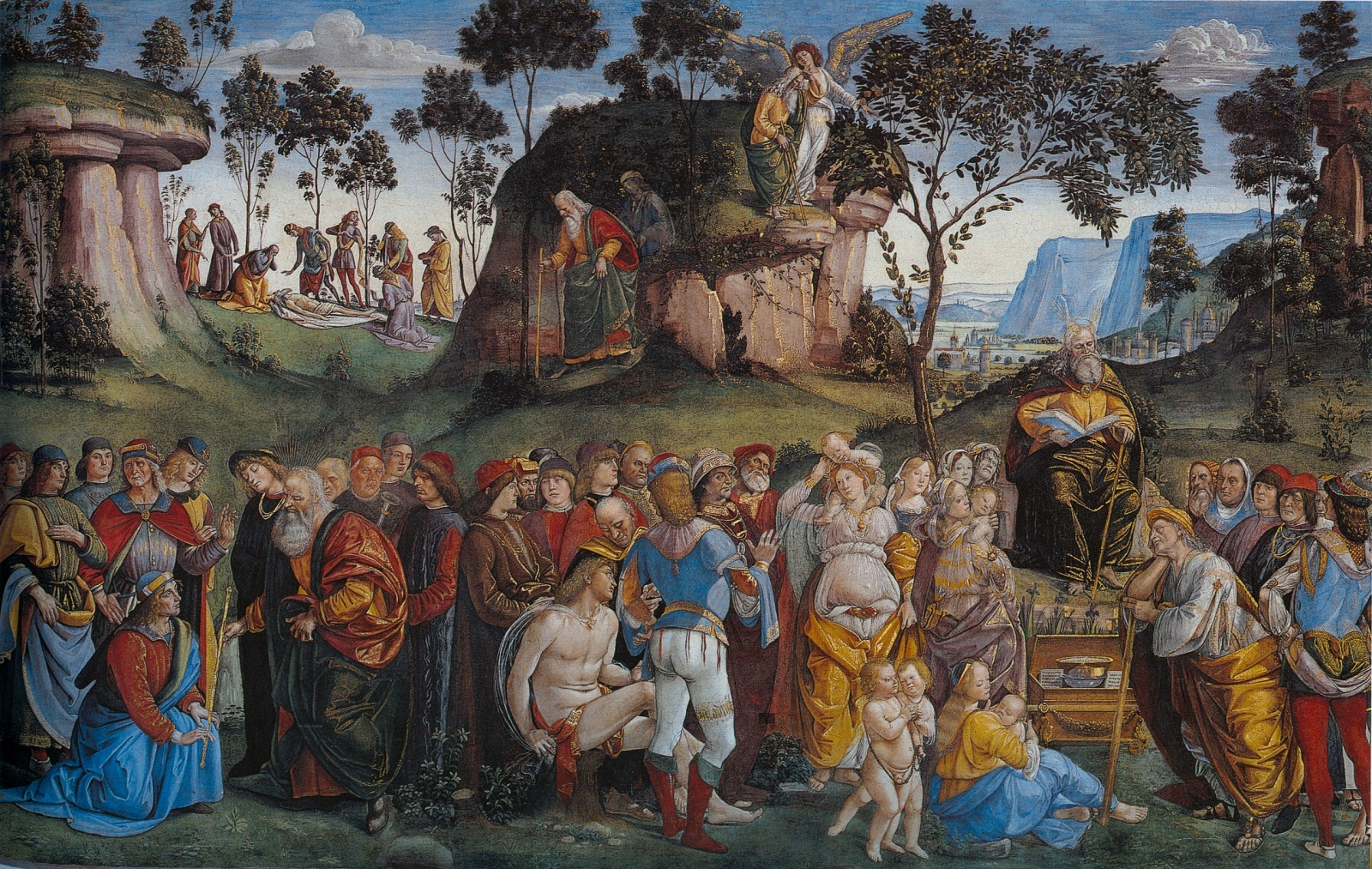 Sistine Chapel, Vatican, Signorelli and Gatta, Moses Testament and Death
