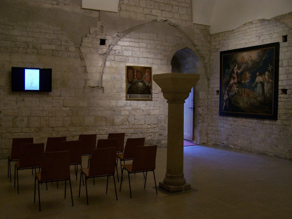 Strahov Monastery, Prague, Czech Republic, Room of multimedia exhibition