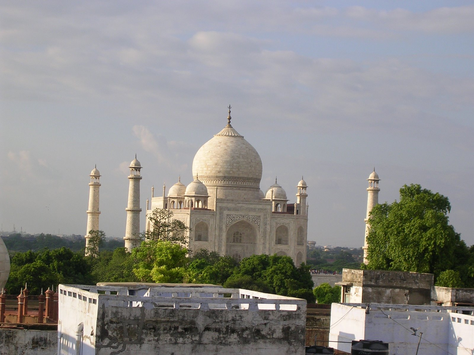 Taj Mahal, India, Mausoleum Skyline