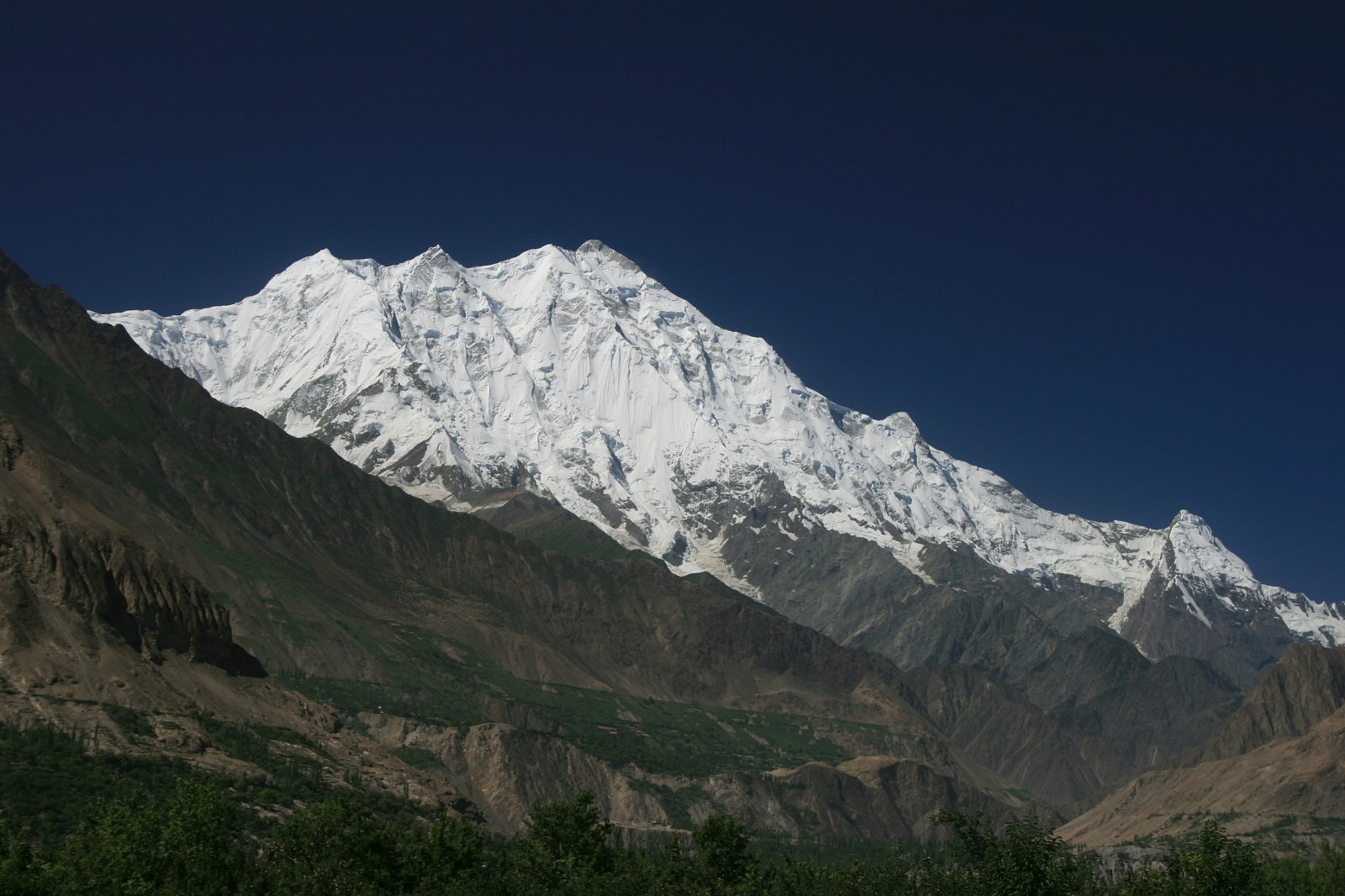 Tallest Mountains, Kangchenjunga, Himalayas, Panorama peak view