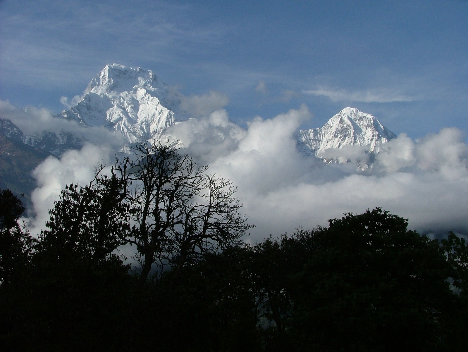 Tallest Mountains, Annapurna, Nepal, Himalaya, South face view