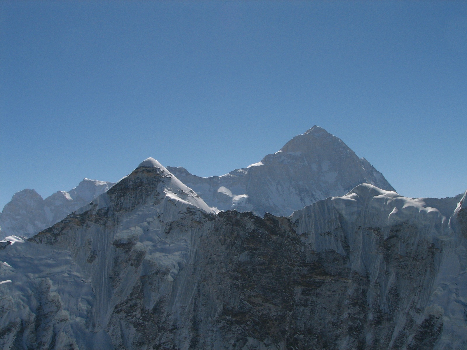 Tallest Mountains, Makalu West Face, Everest, View from Island Peak