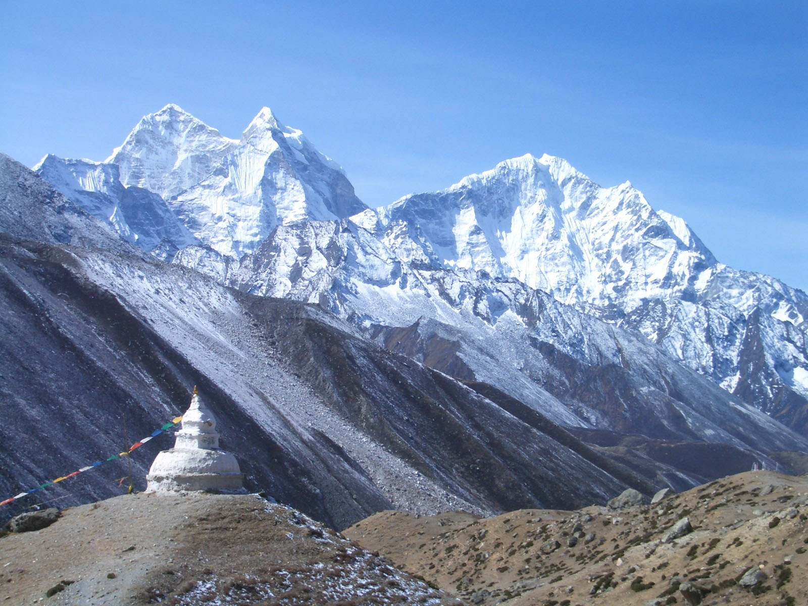 Tallest Mountains, Makalu West Face, Everest, Top peak view