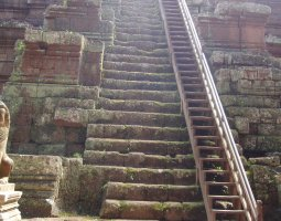 Angkor Thom, Angkor, Cambodia, Stairways to The Sun
