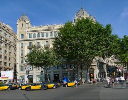 Barcelona Architecture, Spain, Las Ramblas 01