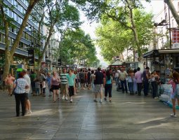 Barcelona Architecture, Spain, Las Ramblas 02