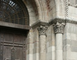 Basilique Saint Sernin, Toulouse, France, Entrance arch
