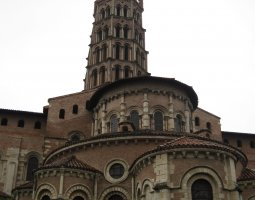 Basilique Saint Sernin, Toulouse, France, Tower overview