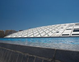 Bibliotheca Alexandrina, Egypt, Roof design view