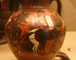 British Museum, London, England, Ancient Greek pot