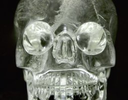 British Museum, London, England, Crystal skull