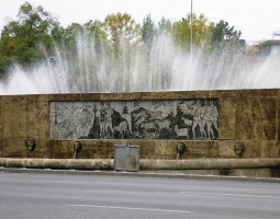 Bucharest Architecture, Romania, Miorita fountain