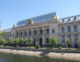 Bucharest Architecture, Romania, Former Court House