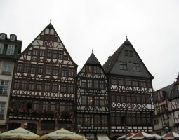 Frankfurt Architecture, Germany, Romer Plazza (3)