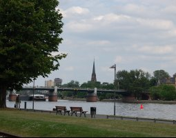 Frankfurt Architecture, Germany, Main river (2)
