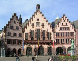 Frankfurt Architecture, Germany, Romer Plazza (2)