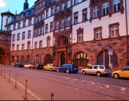 Frankfurt Architecture, Germany, Old part of the city (3)