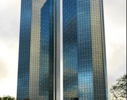 Frankfurt Architecture, Germany, Deutsche Bank Twin Towers