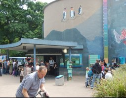 Frankfurt Zoo, Germany, Exotarium entrance