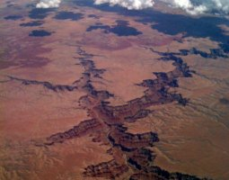 Grand Canyon, U.S.A, Aerial view