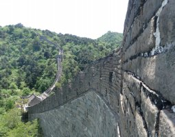 Great Wall of China, China, Overview along the wall