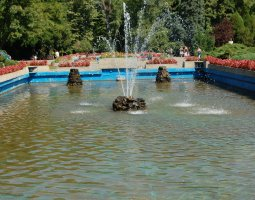 Herastrau Park, Bucharest, Romania, Fountains (2)
