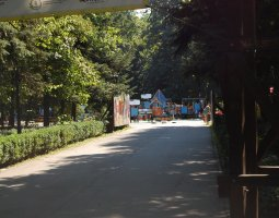Herastrau Park, Bucharest, Romania, Children playground