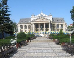 Iasi architecture, Romania, National Theatre