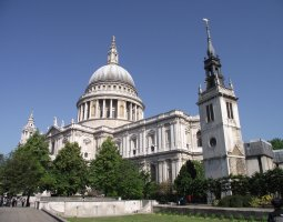 London Architecture, United Kingdom, St Paul Church