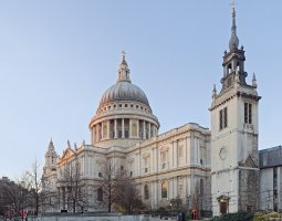 London Architecture, United Kingdom, St Paul Cathedral