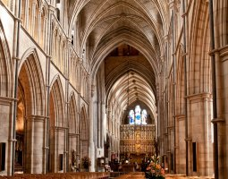 London Architecture, United Kingdom, Southwark Cathedral inside
