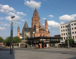 Mainz Cathedral, Germany, Square overlook