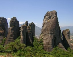 Meteora, Greece, Rocks 002