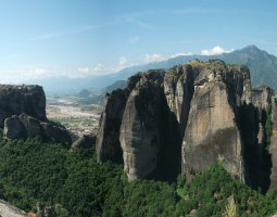 Meteora, Greece, Rocks 014