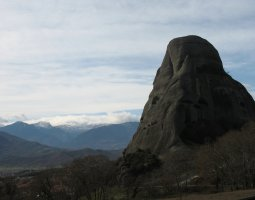 Meteora, Greece, Peak