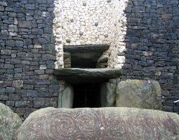 Monasterboice, Ireland, Ruin door